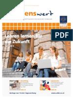 wissenswert 15 - Magazin der Leopold-Franzens-Universität Innsbruck