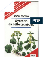 Maria Treben - Gyomor és bélbetegségek