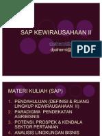 01 Just Sap Kewirausahaan II