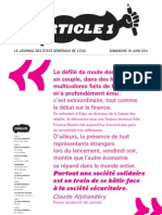 article 1 le journal de l'ESS
