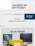 Willkommen im Freien Markt - Verlage gegen Internet