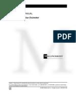 Nellcor NPB-195 - Service Manual