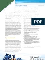Exchange Online Standard Datasheet FR 2