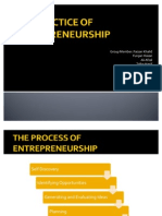 Practice of Entrepreneurship