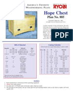 Woodworking Plans - Hope Chest