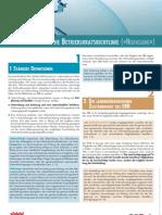 Wandzeitung zur Neufassung der Europäischen Betriebsratsrichtlinie
