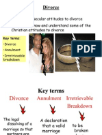 1. Secular & Christian Divorce