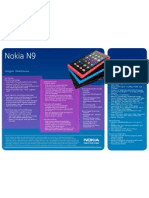 1 Nokia n9 Data Sheet