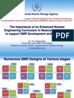 Важность усиления подготовки в области ядерного образования в новых ядерных странах