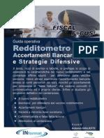 Guida Redditometro Accertamenti Bancari e Strategie Difensive