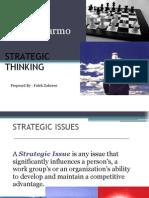 Novo Marmo strategic thinking