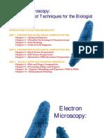 Manual of Electron Microscope