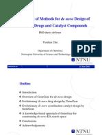 PhD Defense CYH