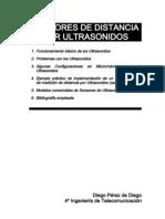 Sensores de Distancias Con Ultrasonidos