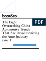The Eight Over Arching China Automotive Trends en Part 1
