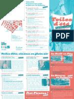 Toiles d'été, les Inattendus, Lyon juin et juillet 2011