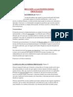 Apuntes Procesal - Parcial I