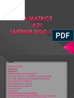LA MATRICE  ADL (ARTHUR DOO LITTLE)