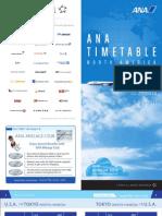 ANA Timetable English
