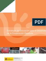 Estrategia de Educación para el Desarrollo de la Cooperación Española