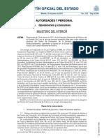 BOE-A-2011-10799 - CONVOCATOIA ESCALA BÁSICA DE POLICIA NACIONAL