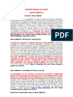 Dto Ambiental - Inf - 2010 - STJ - STF