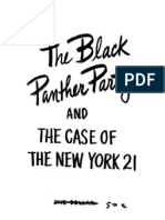 The Black Panther Party and the Case of the New York 21