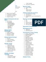 Software Testing _syllabus
