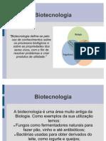 Slide Biotecnologia