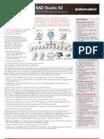 Rad Studio Data Sheet