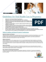 Pregnancy Oral Healthcare