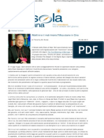 Timothy M. Dolan, «Ridefinire il matrimonio? Mica siamo in Cina», trad. it. di Marco Respinti dell'articolo «The True Meaning of Marriage» pubblicato in «The Gospel in the Digital Age», blog dell'arcidiocesi di New York [http://blog.archny.org/?p=1247], New York 14-06-2011, in «La Bussola Quotidiana» [www.labussolaquotidiana.it], Milano 20-06-2011