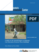 An Analysis of the Afar Somali Conflict in Ethiopia and