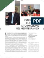 Patrimonio culturale e formazione nel Mediterraneo - AdriaECO dell'11 giugno 2011