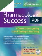Pharmacology Success (Davis's Success Series)