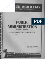 Chapter.2 Theories of Administration