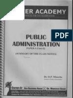 B L Fadia Public Administration Pdf