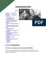 Cost Estimation Book