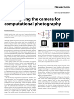 Re-designing the camera for computational photography