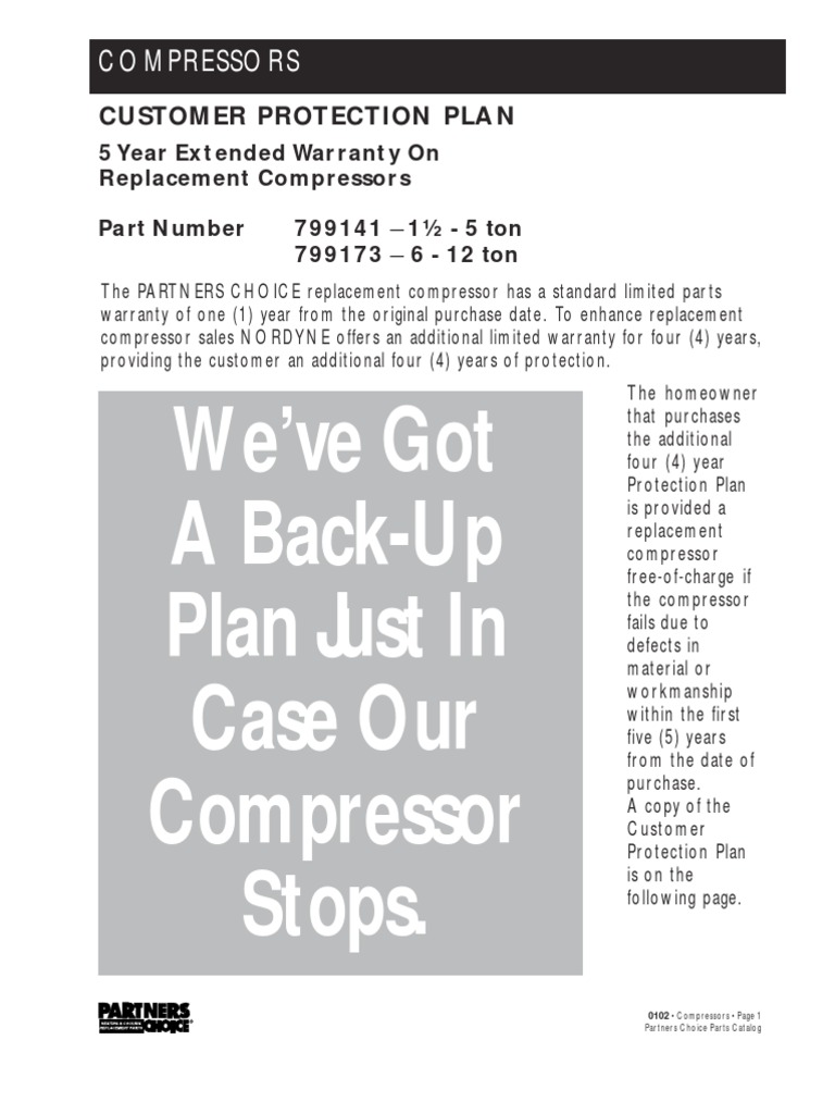Copeland Compressors Info & Cross Reference   Law Of