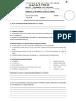 Examen Mensual IV Unidad 2011