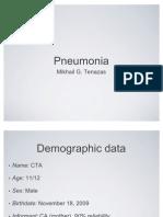 Presentation - Pneumonia