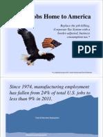 Bring Jobs Home to America - Presentation 062111 PDF