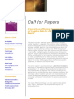 Call for Papers LTE