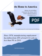 Bring Jobs Home to America - Presentation 062111 PDF