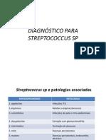 DIAGNÓSTICO PARA STREPTOCOCCUS E ENTEROCOCCUS VERGUEIRO