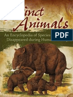 Extinct Animals_ an Encyclopedia of Species That Have Disappeared During Human History, 1st Ed