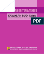 Permen Pu No 41 Pedoman Kriteria Teknis Kawasan Budidaya