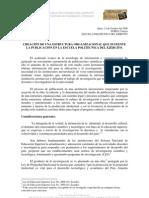 Creacion de Una Estructura Organizacional Politecnica Del Ejercito