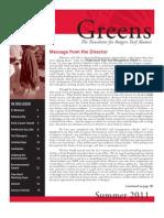 Rutgers Golf Turf Management School Summer 2011 Newsletter